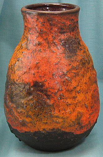 Carstens West German Pottery Vase Shape 0015
