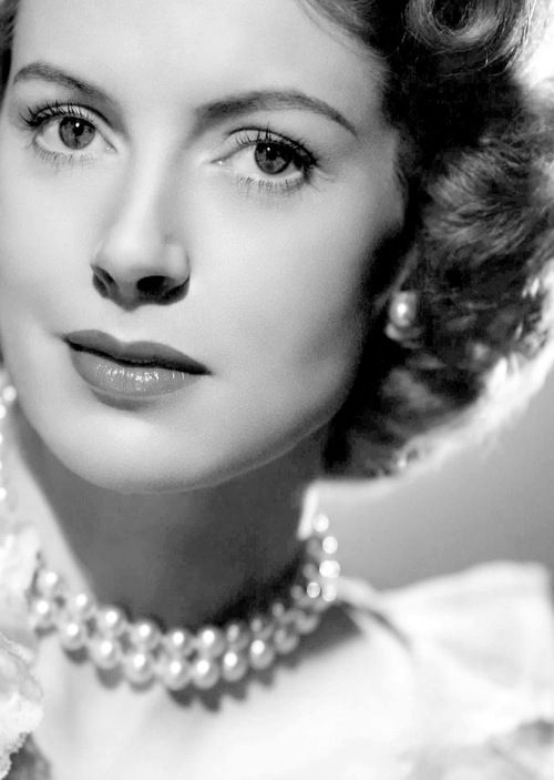 The sophisticated, elegant and charming, Scottish-born, film, theatre and television actress, Deborah Kerr