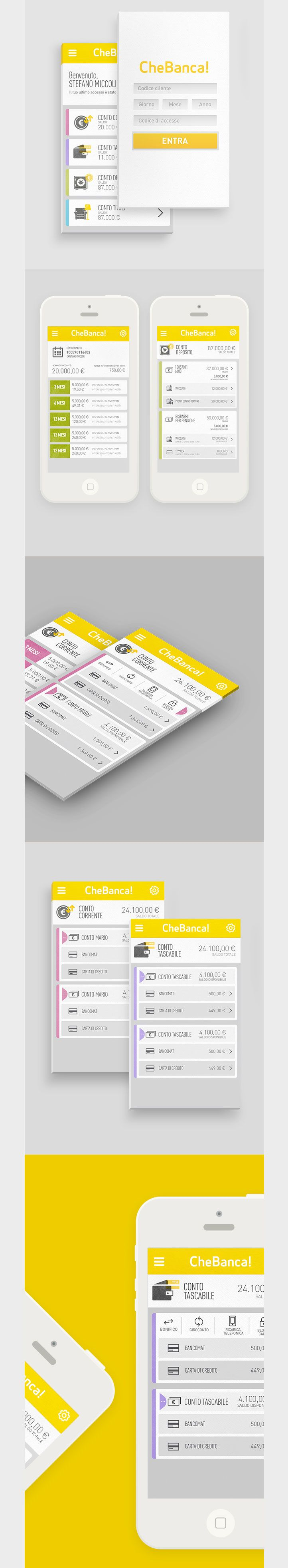 Sexiest design of a Banking App I've seen so far.