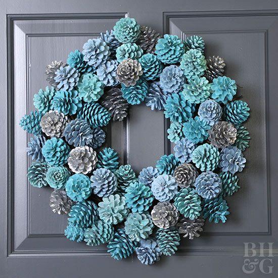 Don't drop big bucks on a fancy wreath.