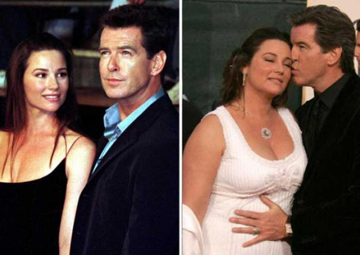 Pierce Brosnan's 52-year-old wife, Keely Shaye Smith, is ...
