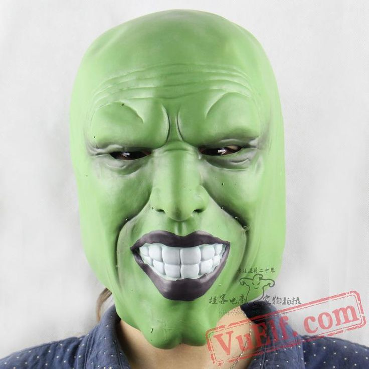Horror Ghost Halloween Masks