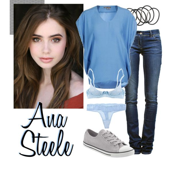 Lily Collins as Ana Steele