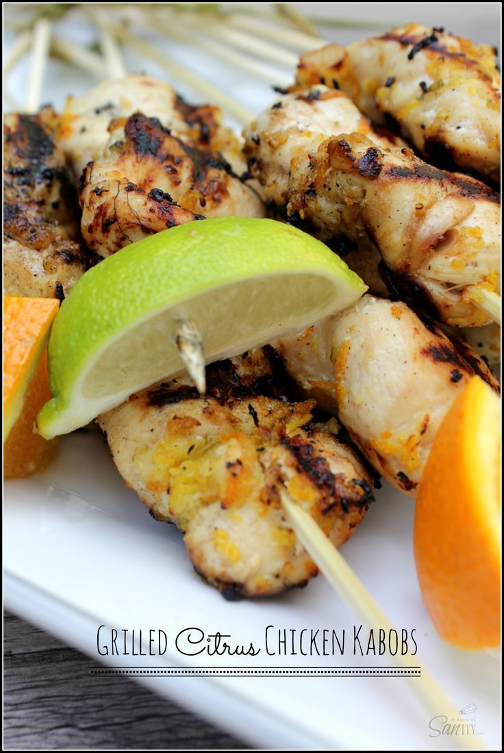 How long do i grill chicken kabobs - Grilled Citrus Chicken Kabobs Is Guaranteed To Bring Some Sizzle To Your Grill This Season