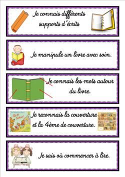 Affichettes pour la lecture guidée - Culture littéraire