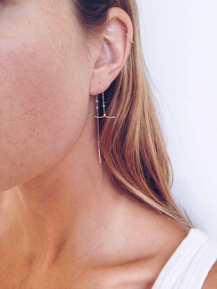 Harpoon Threader Earring / Rackk and Ruin
