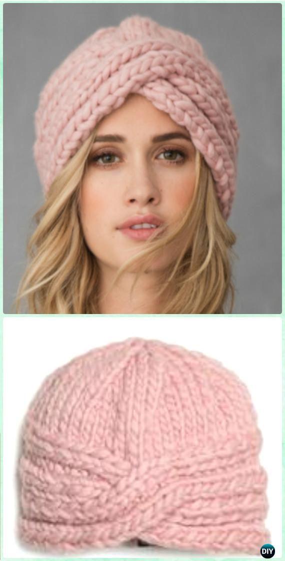 Crochet SOHO Turban Hat Free Pattern - Crochet Turban Hat Free Patterns