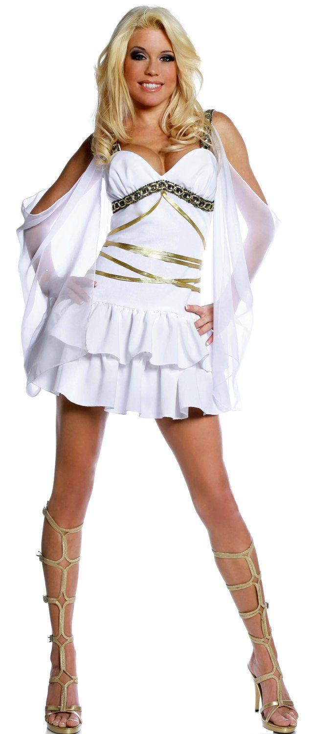 Girl nude greek goddess costume seems brilliant