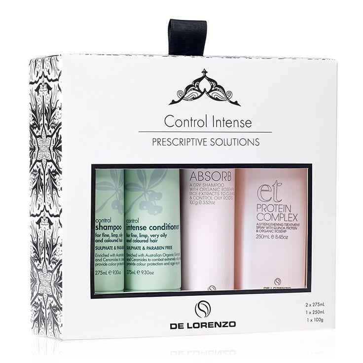 HAIR 2 GO - De Lorenzo - Control Intense Gift Pack, $59.95 (http://www.hair2go.com.au/de-lorenzo-control-intense-gift-pack/)