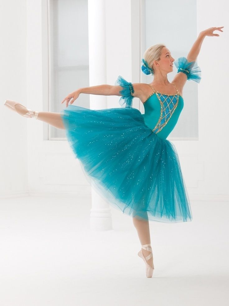 Girl Revolution Dancewear 0376 Turquois Green Tutu Ballet Dance Size Child L LC #RevolutionDancewear
