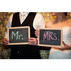 Wedding Chalkboard Signs for R40.00