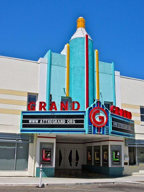 Grand Theatre - Tracy, California