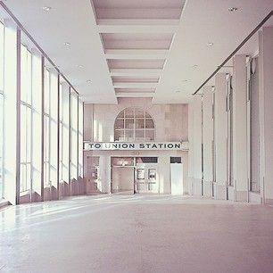 Skywalk Exit/Entrance hall, Union Station, Toronto