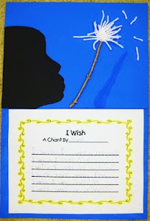 First Grade Wow: I wish, I wish, I wish silhouette poems