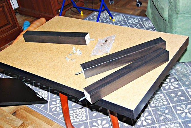 IKEA HACK: Стол для игры в ЛЕГО из журнального стола ЛАКК своими руками