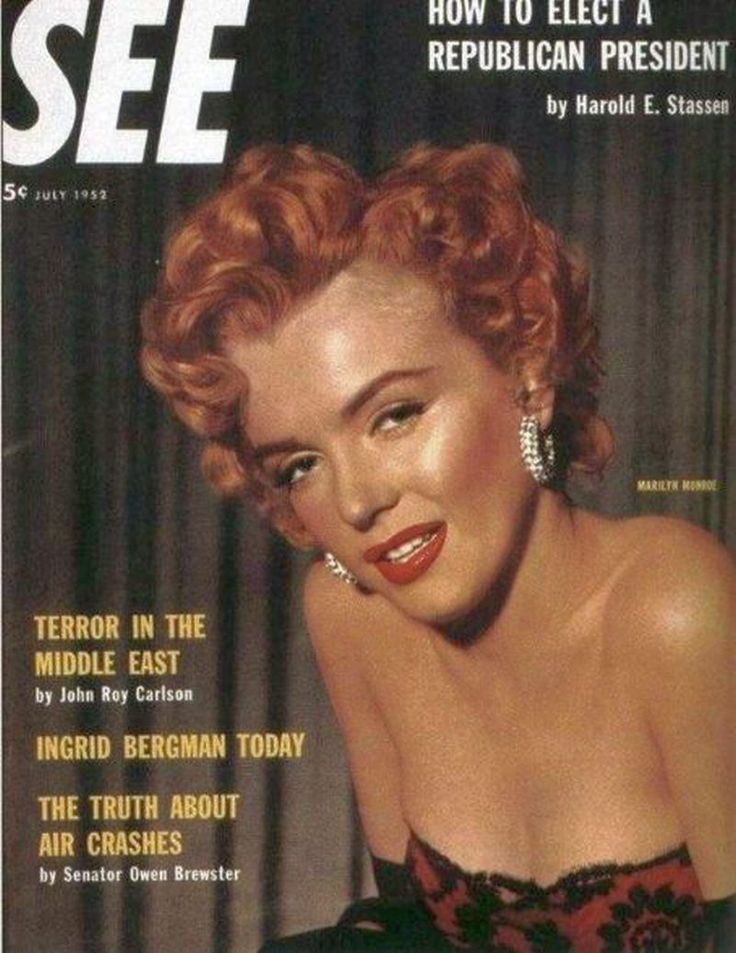 See 1952 United States Marilyn Monroe