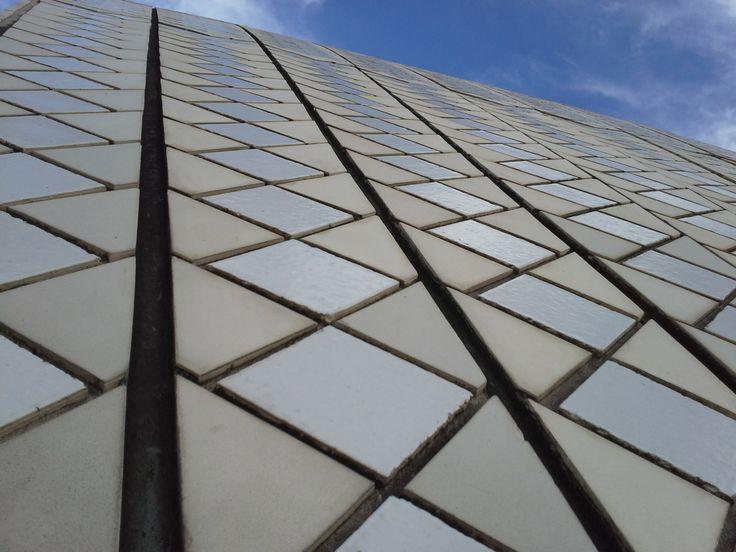 Tile lines Sydney Opera House