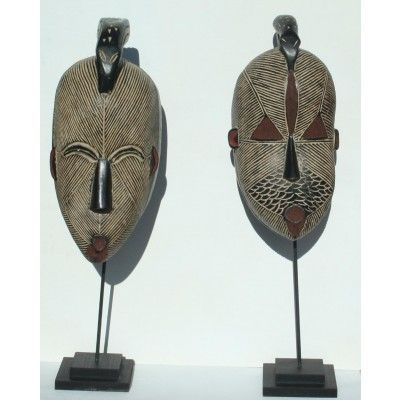 Handmade Masks Pair..
