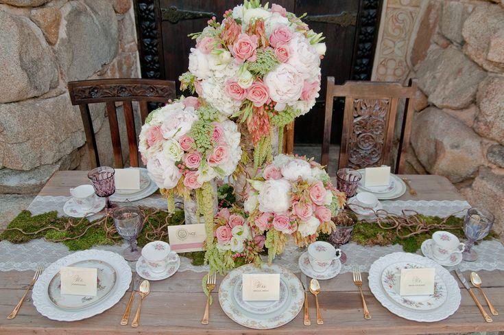 Fairy Tale Tangled Wedding Shoot floral decor