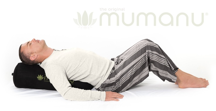The Mumanu Pillow is great to use for exercise and assisted stretching in yoga. It's self-inflating so very easy to travel to class with, or store at home. www.mumanu.com