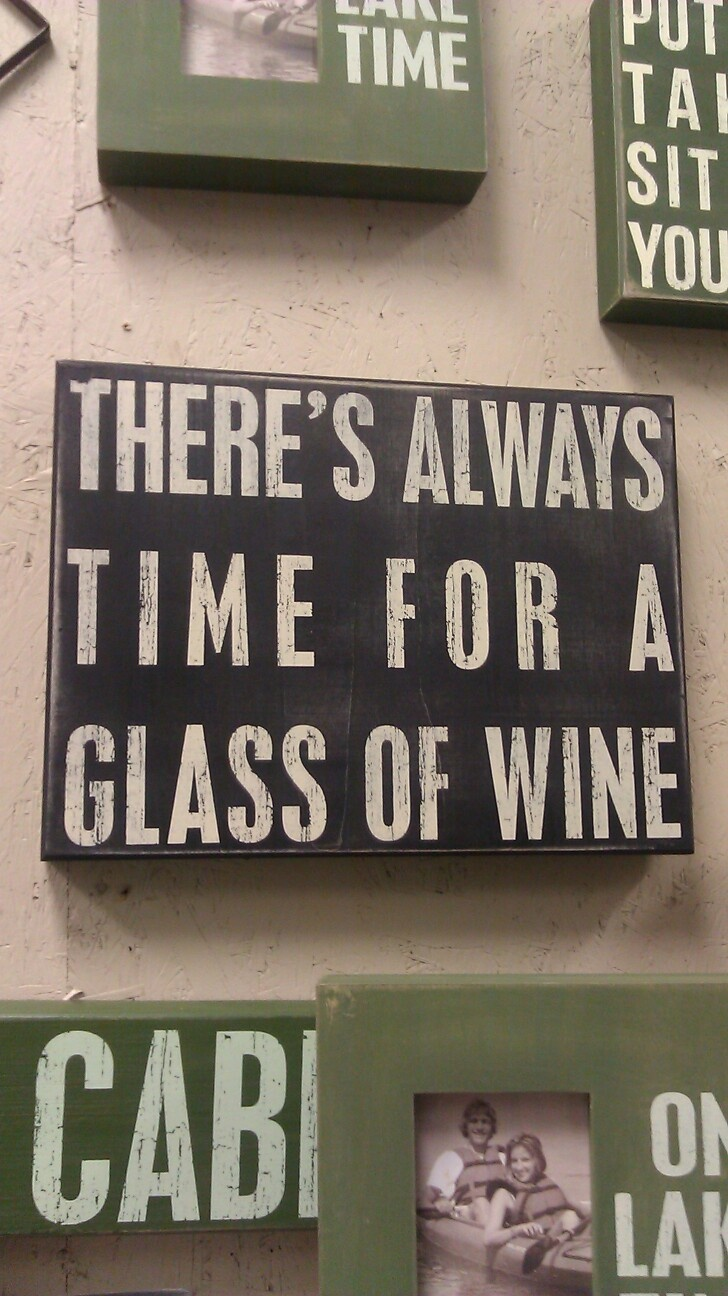 Especially during Wine Down Wednesdays at Alexandra's Restaurant! Select bottles of wine are half off =]