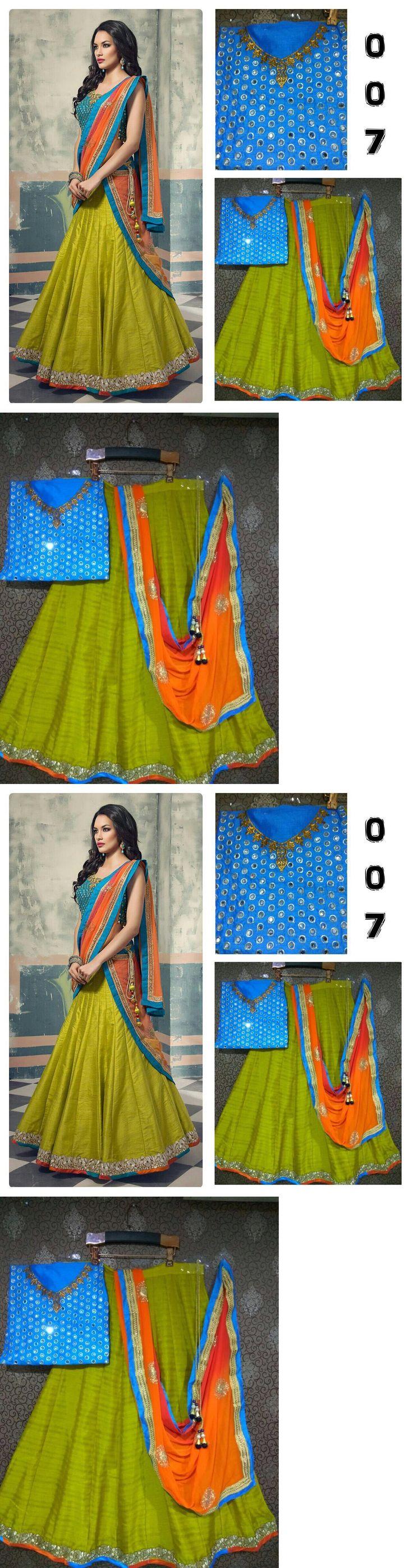 Choli 155247: Bollywood Replica Designer Party Wear Lehenga Choli Wedding Lhenga Sari 0004 -> BUY IT NOW ONLY: $50 on eBay!