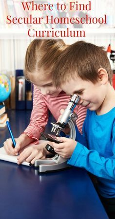 A great list of secular homeschool curriculum {Secular Homeschooling, Homeschooling, Homeschool ideas, Homeschool Curriculum}