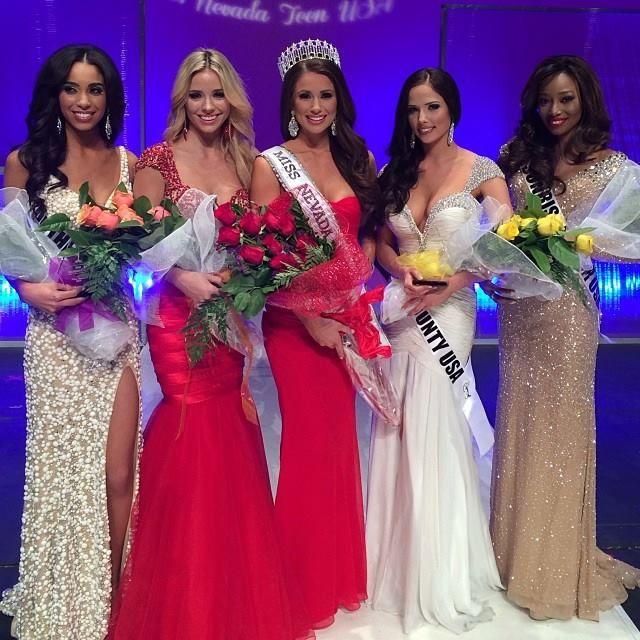Nia Sanchez Crowned Miss Nevada USA 2014