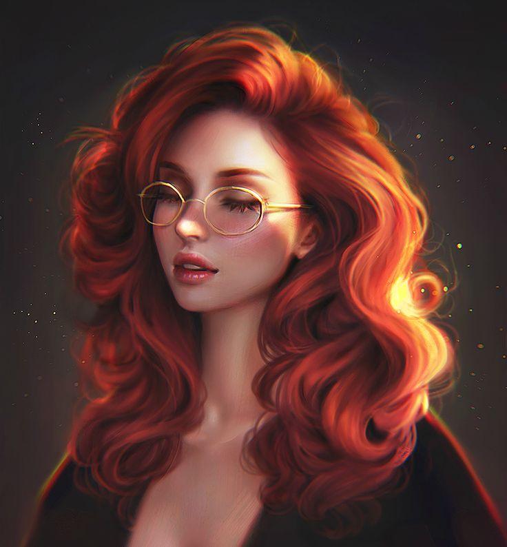 Hazel Grace Cc551044dbf699c65b0e27a7362e2c02--painting-portraits-portrait-art