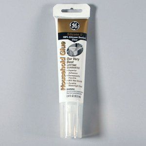 GE II Silicone for exterior windows, in clear to be used in creating glass garden projects