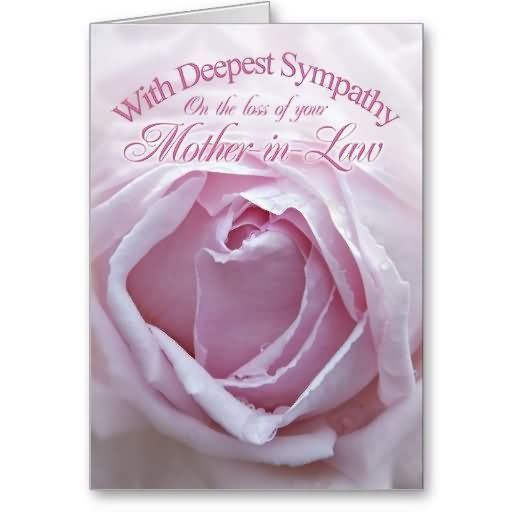 deepest sympathy messages mother | With Deepest Sympathy On The Loss Of Your Mother In Law