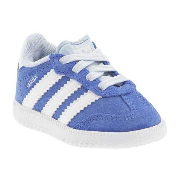 Adidas Samba Suede Slip On Athletic Shoes ❤ liked on Polyvore featuring shoes, kids, suede leather shoes, suede shoes, slip-on shoes, fleece-lined shoes and slip on shoes
