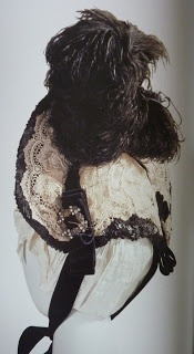 How to make a Victorian bonnet with wire frame