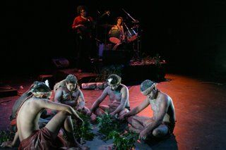 ARC dreaming Involves Aboriginal Traditional and Contemporary Music and dance Combined