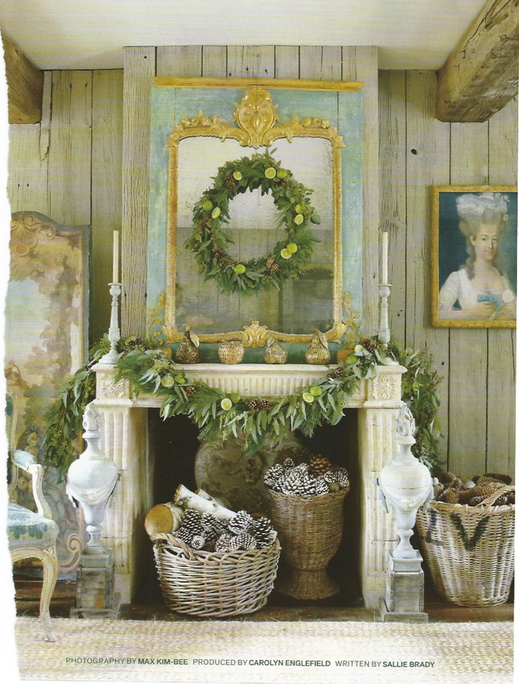 mantle & fireplace decor