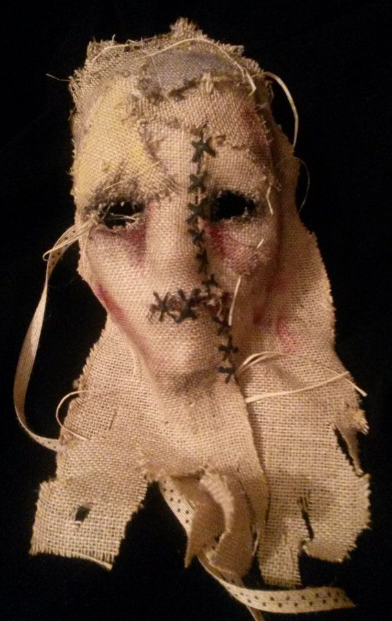 Horror mask. Halloween mask. Scary mask. Scarecrow by MyMascarade, $28.00