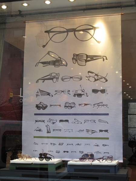 """From La Font boutique in the """"Marais"""" area in Paris made in 2011--would love this poster at my office!"""
