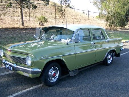 1963 Holden EJ Special Sedan. Built right here in Melbourne, Australia v@e
