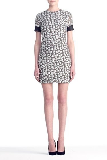 Cindy Puffy Sequins Dress   by DVF
