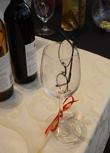 Auction idea: have reading glasses available to help people see the silent auction descriptions