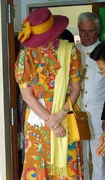 Queen Margrethe, February 9, 2001