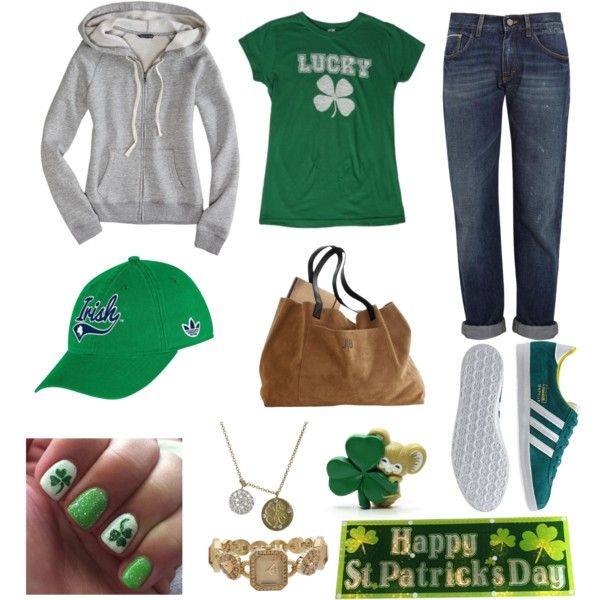 """""""St. Patrick's Day - Casual Pub"""" by caryvanessa on Polyvore"""