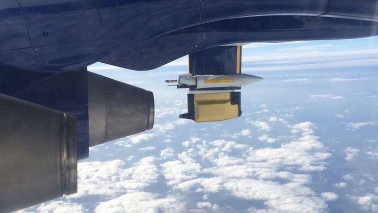 Flights probe jet stream role in floods