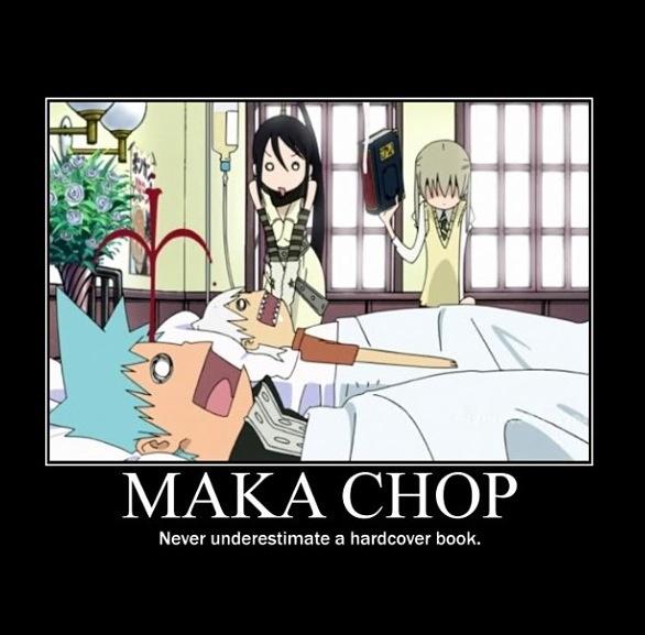I need to learn how to properly do a Maka chop cause I've tried and failed