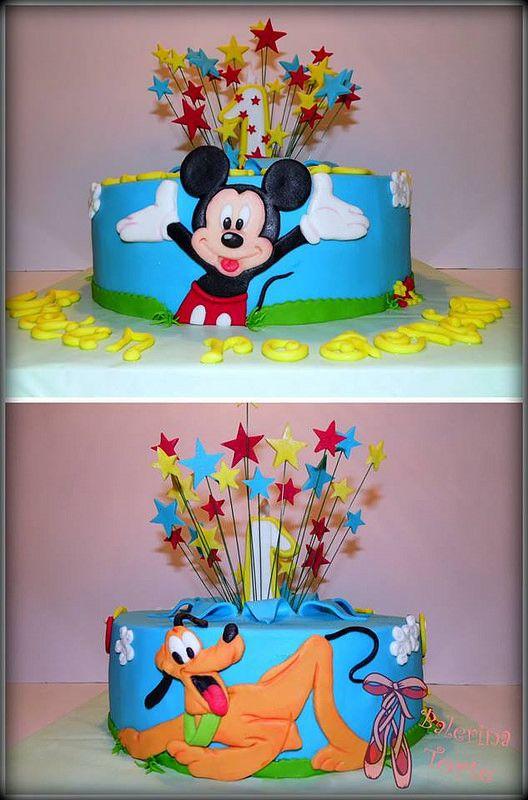 Lovely Mickey Mouse Cake, Miki Maus torta, Balerina Torte Jagodina