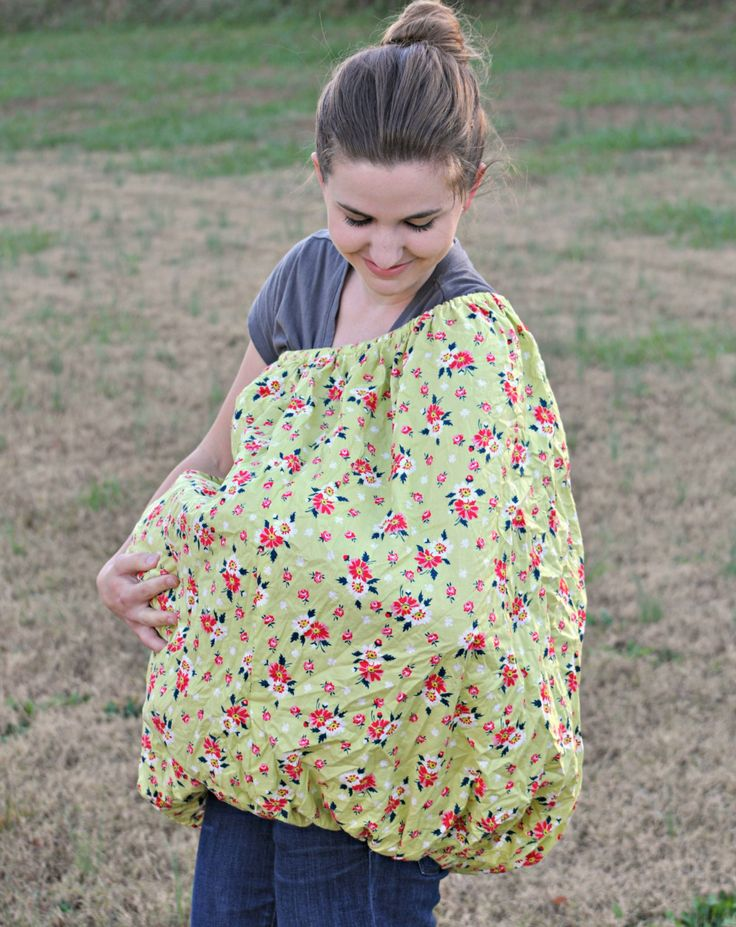 Plus Size Nursing Cover Full Coverage Floral Wrap Around Breastfeeding Covers Back