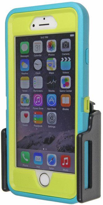 Uchwyt samochodowy do Apple iPhone 6s w futerale, regulowany.