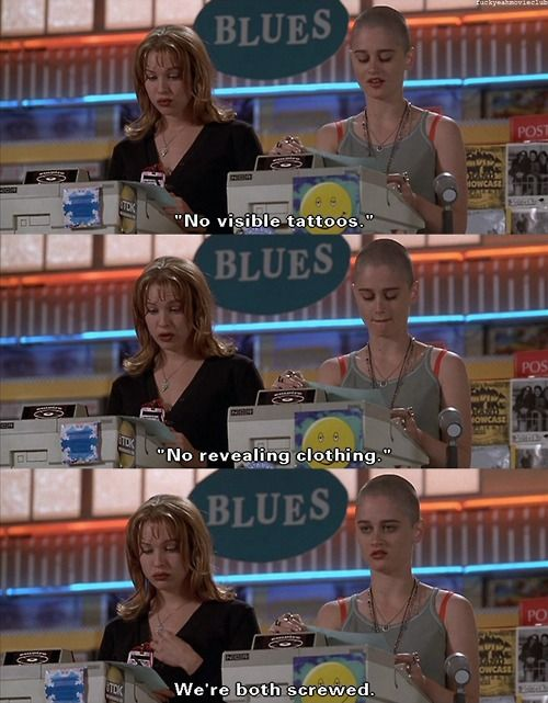 Empire Records....love this movie!!