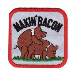 Makin Bacon Two Pigs Patch