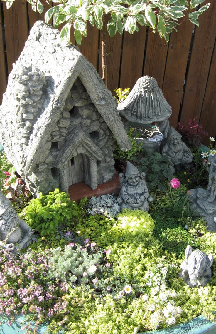 Fairy Garden display at Nick's Garden Center and Farm Market. Create a fun  setting like